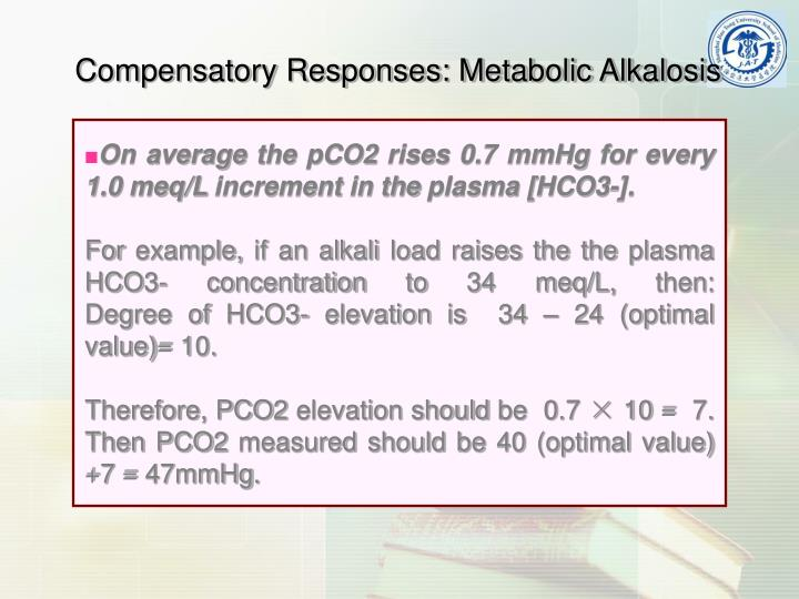 Compensatory Responses: Metabolic Alkalosis