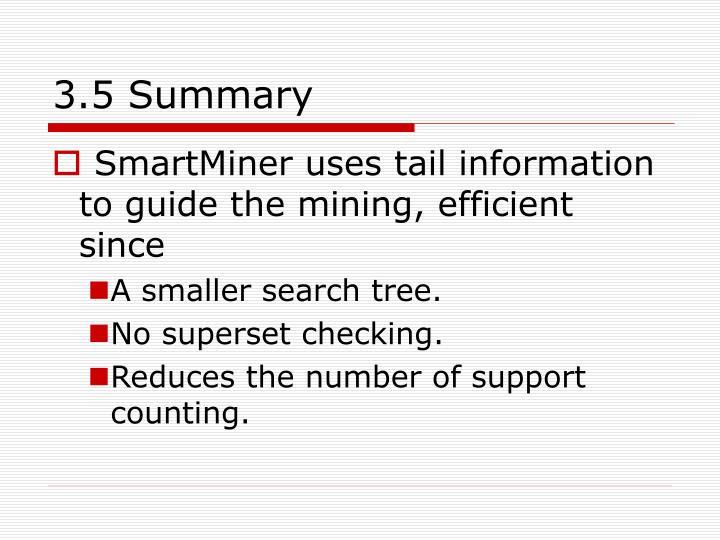 3.5 Summary