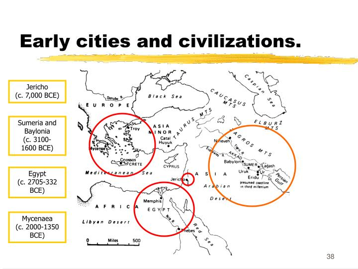 Early cities and civilizations.