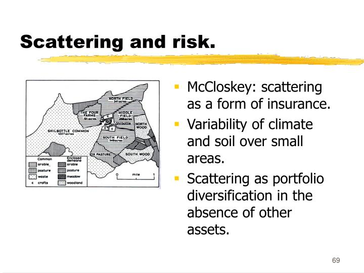 Scattering and risk.