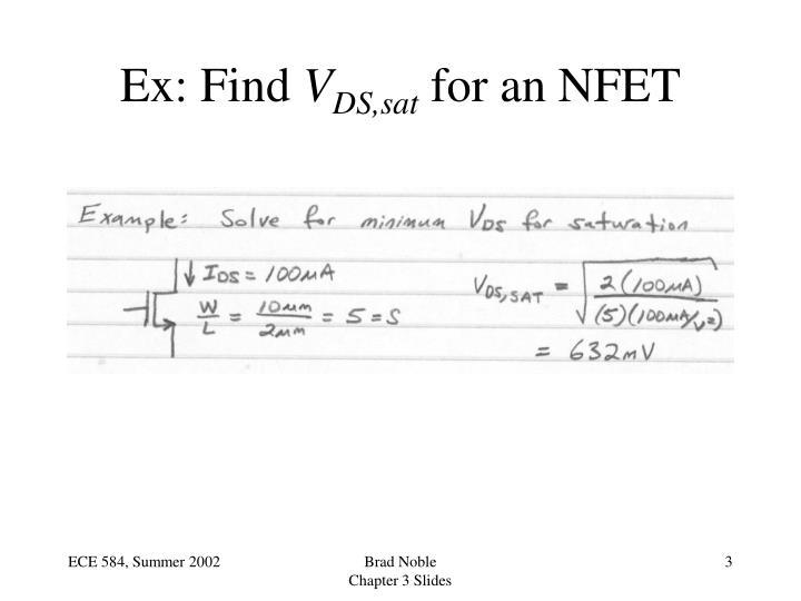 Ex: Find