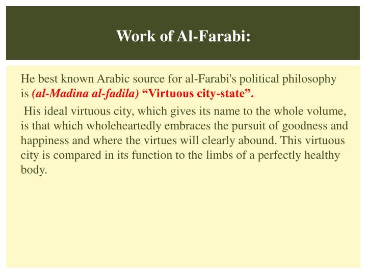Work of Al-