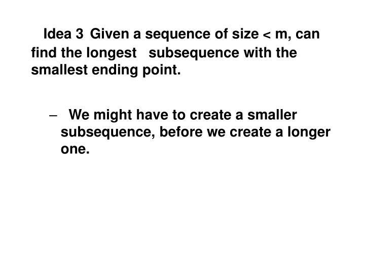 Idea 3