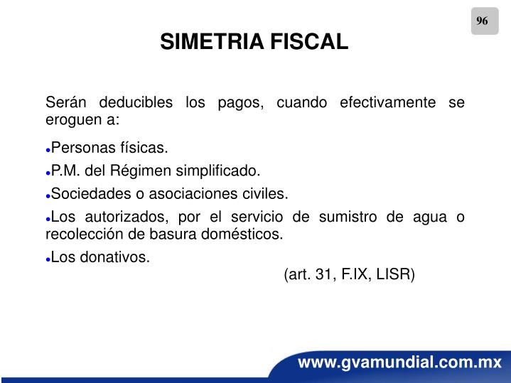 SIMETRIA FISCAL