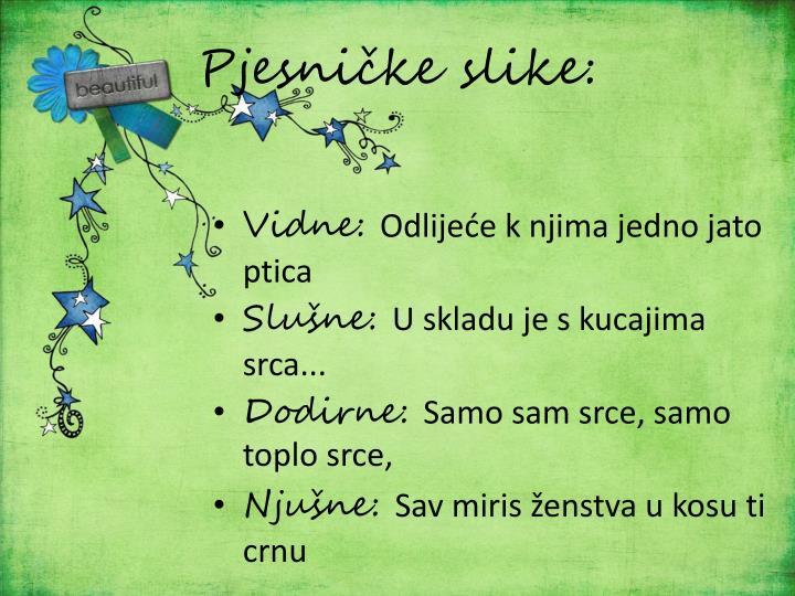 Pjesničke slike: