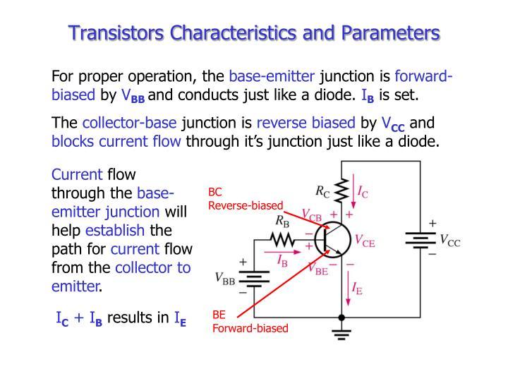Transistors Characteristics and Parameters