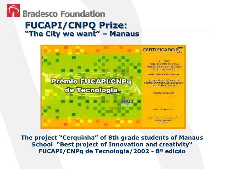 FUCAPI/CNPQ Prize:
