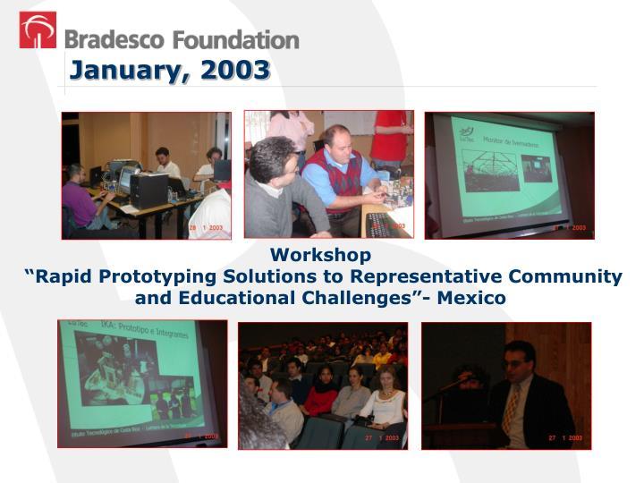 January, 2003