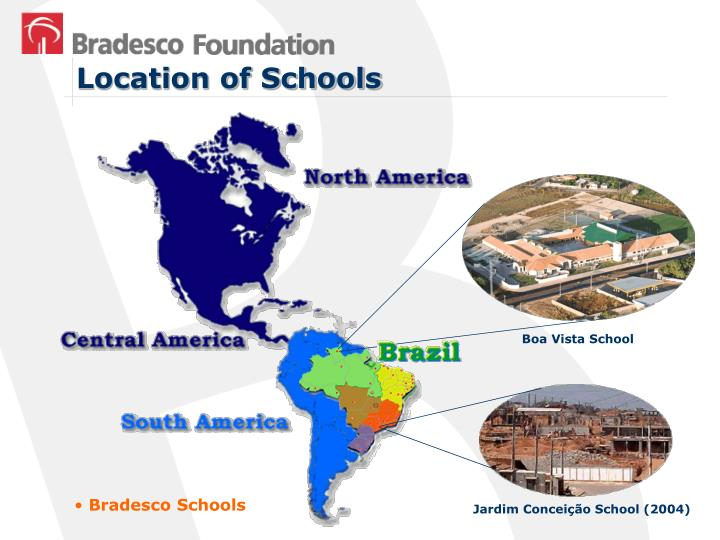 Location of Schools