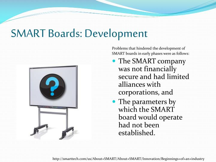 SMART Boards: Development