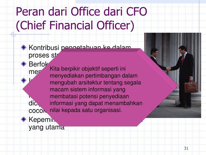 Peran dari Office dari CFO