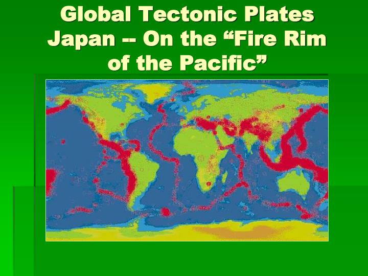 Global Tectonic Plates