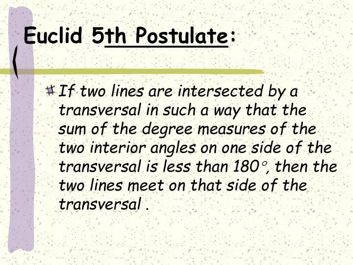 Euclid 5