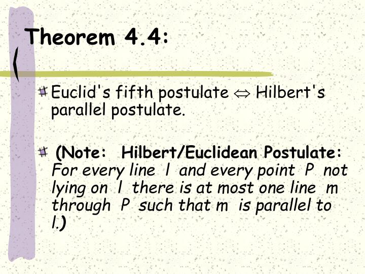 Theorem 4.4:
