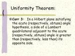 uniformity theorem2