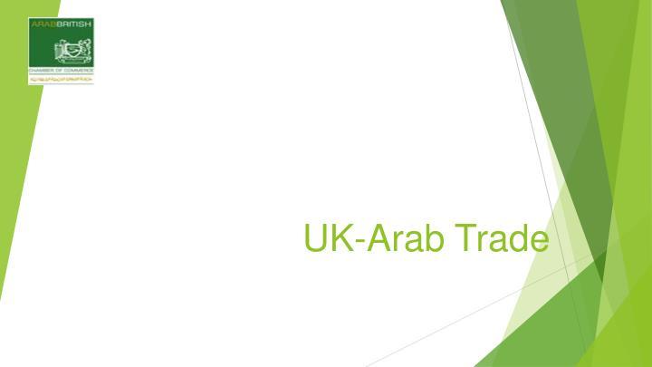UK-Arab Trade