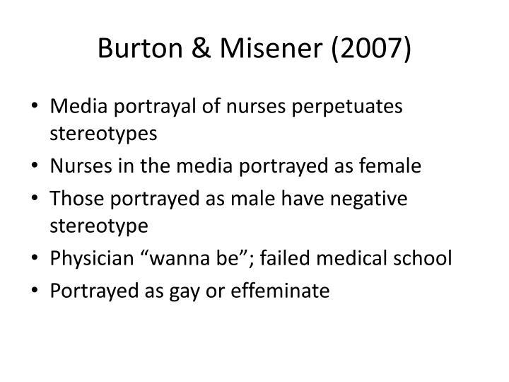 Burton & Misener (2007)