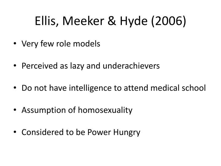 Ellis, Meeker & Hyde (2006)