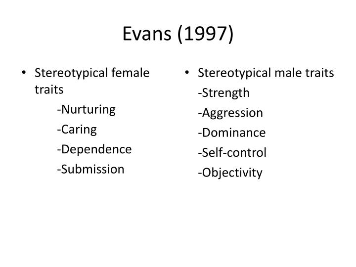 Evans (1997)
