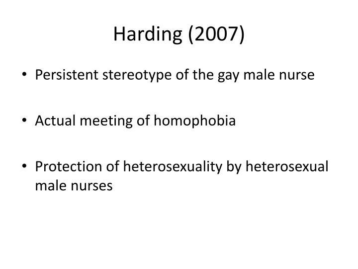 Harding (2007)