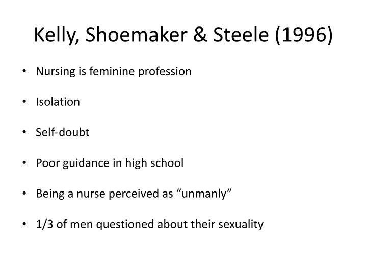 Kelly, Shoemaker & Steele (1996)