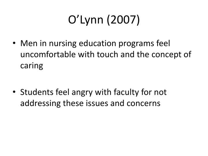 O'Lynn (2007)