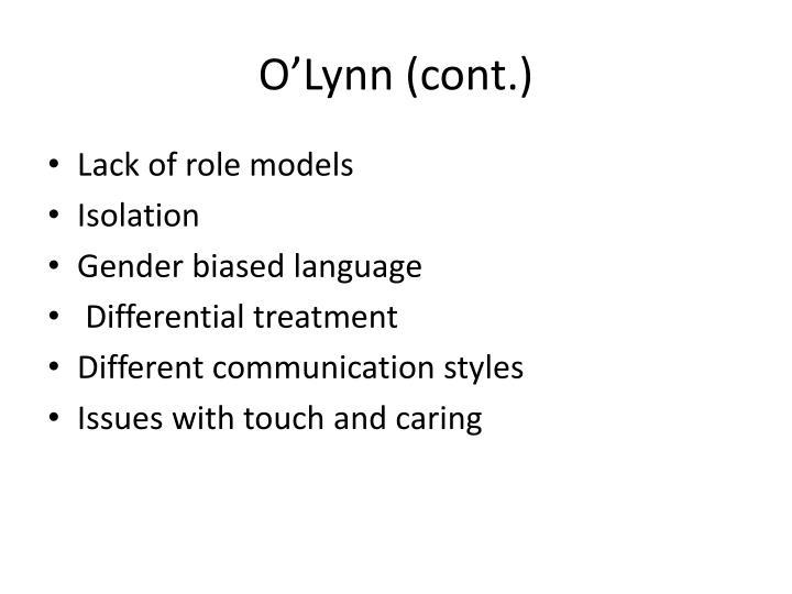 O'Lynn (cont.)