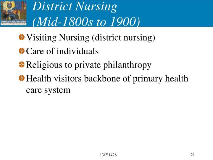 District Nursing