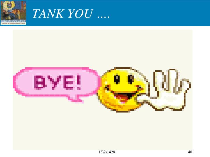 TANK YOU ….