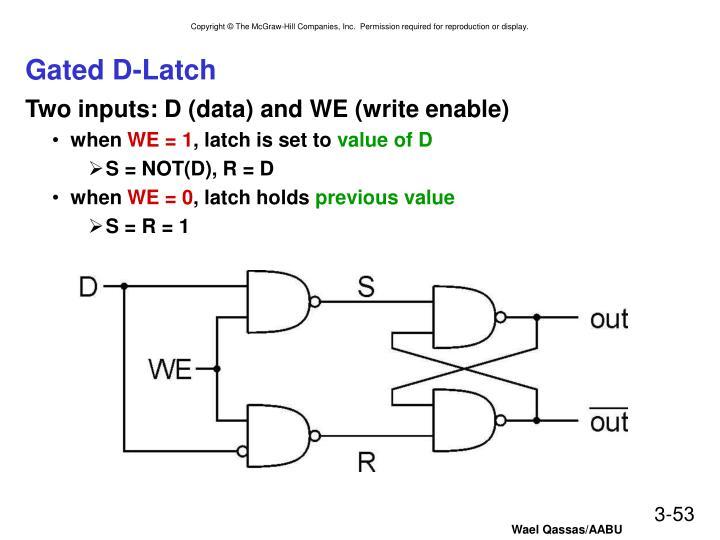 Gated D-Latch