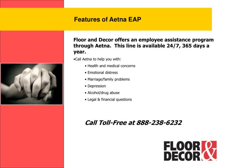 Features of Aetna EAP