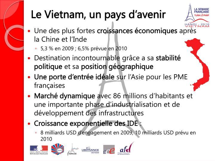 Ppt la semaine fran aise au vietnam 2010 hanoi 3eme for Chambre de commerce francaise au vietnam