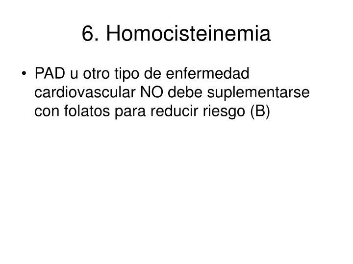 6. Homocisteinemia