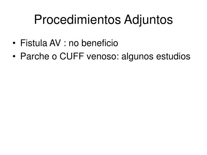 Procedimientos Adjuntos