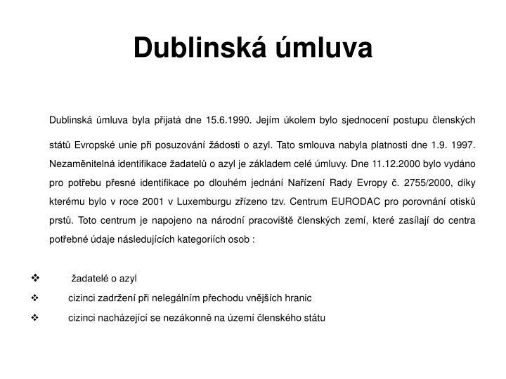 Dublinská úmluva