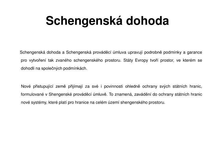 Schengenská dohoda