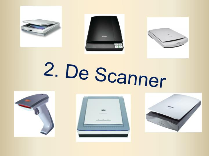 2. De Scanner