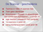 de scanner geschiedenis
