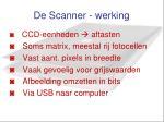 de scanner werking