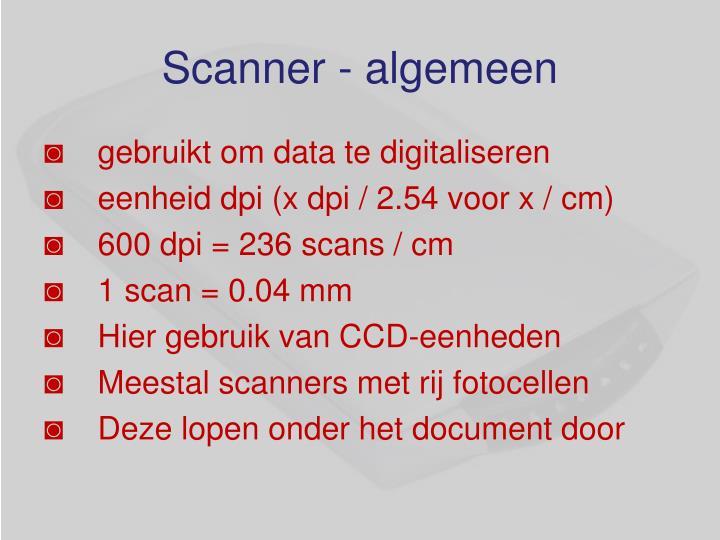 Scanner -