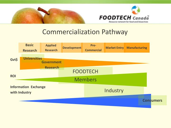 Commercialization Pathway