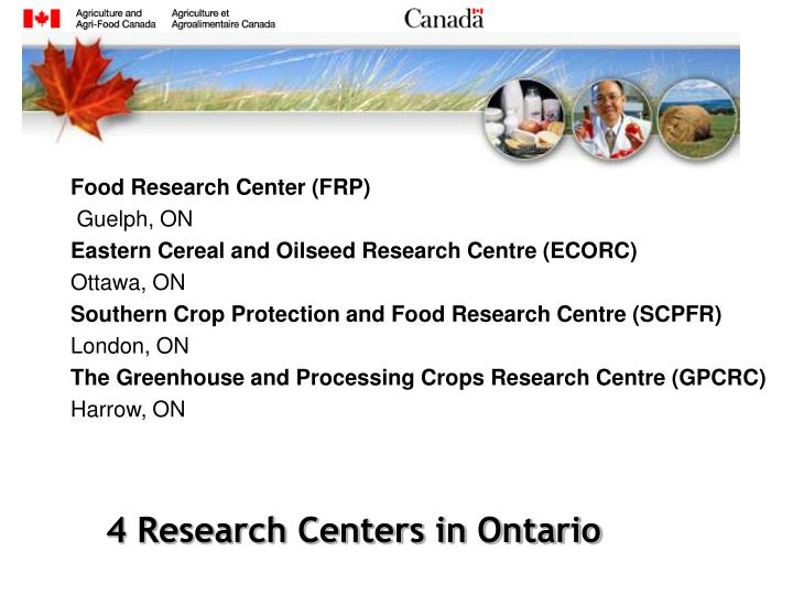 Food Research Center (FRP)