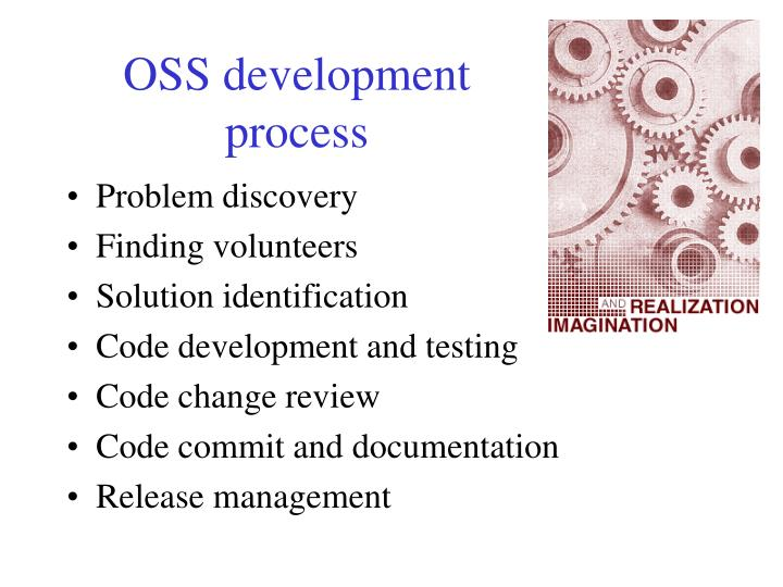 OSS development process