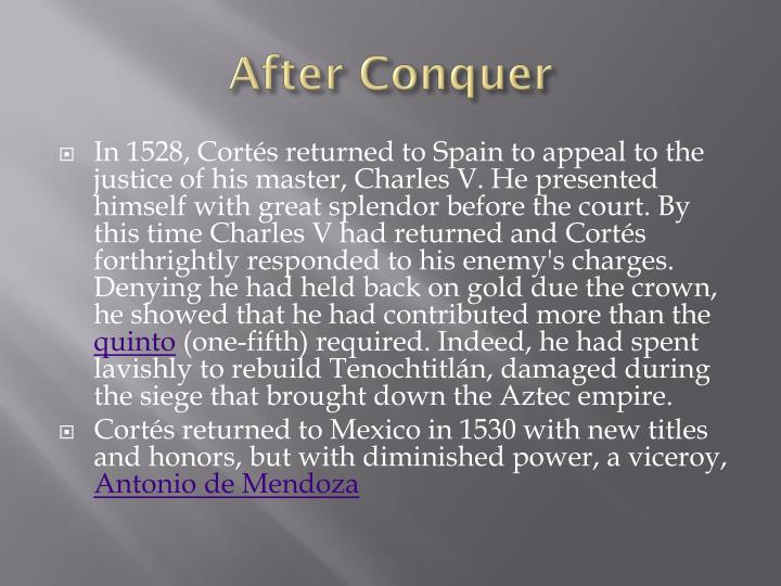 After Conquer