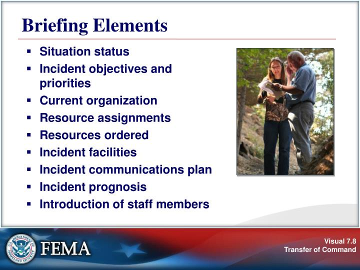 Briefing Elements