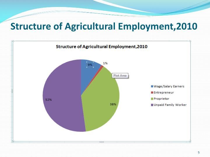Structure of Agricultural Employment,2010