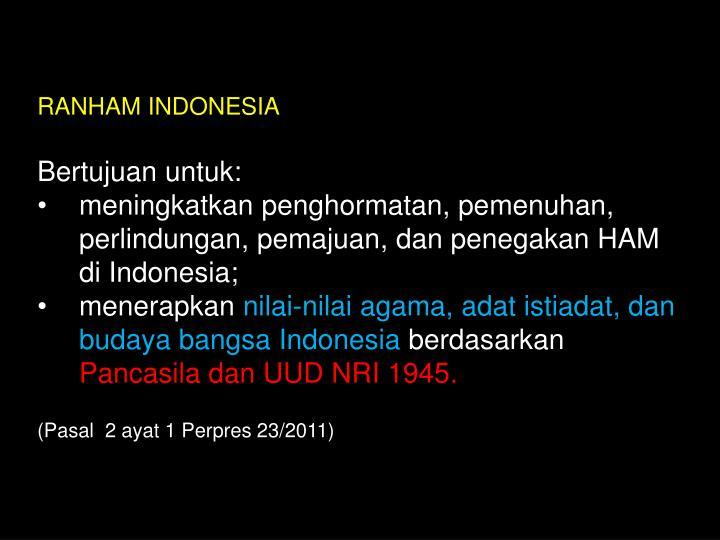 RANHAM INDONESIA