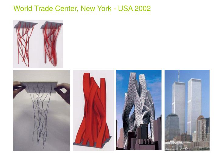 World Trade Center, New York - USA 2002
