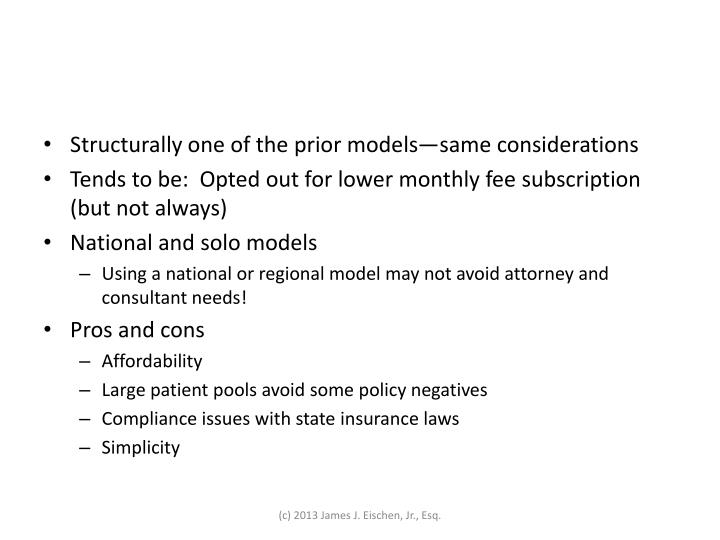 Structurally one of the prior models—same considerations