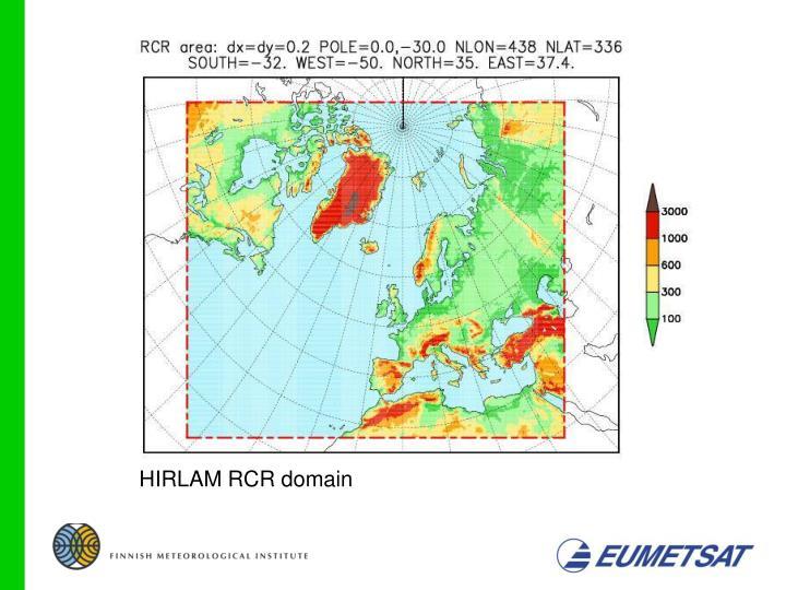 HIRLAM RCR domain